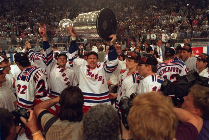 New York Rangers Mark Messier, 1994 Stanley Cup Finals